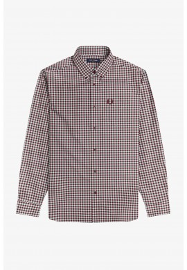 CAMISA M/L 7317 FRED PERRY HOMBRE