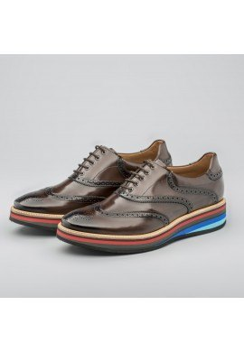 ZAPATO 04052-1 GENTRY CACAO J.GONZALEZ-AINF HOMBRE
