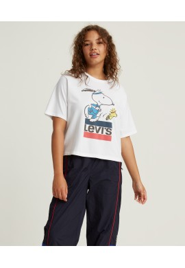 CSTA. 85634-SNOOPY LEVI'S MUJER