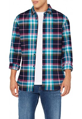 CAMISA CUADROS DM0DM07911 TOMMY JEANS HOMBRE